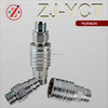 ZJ-YCT push pull hydraulic quick release coupling