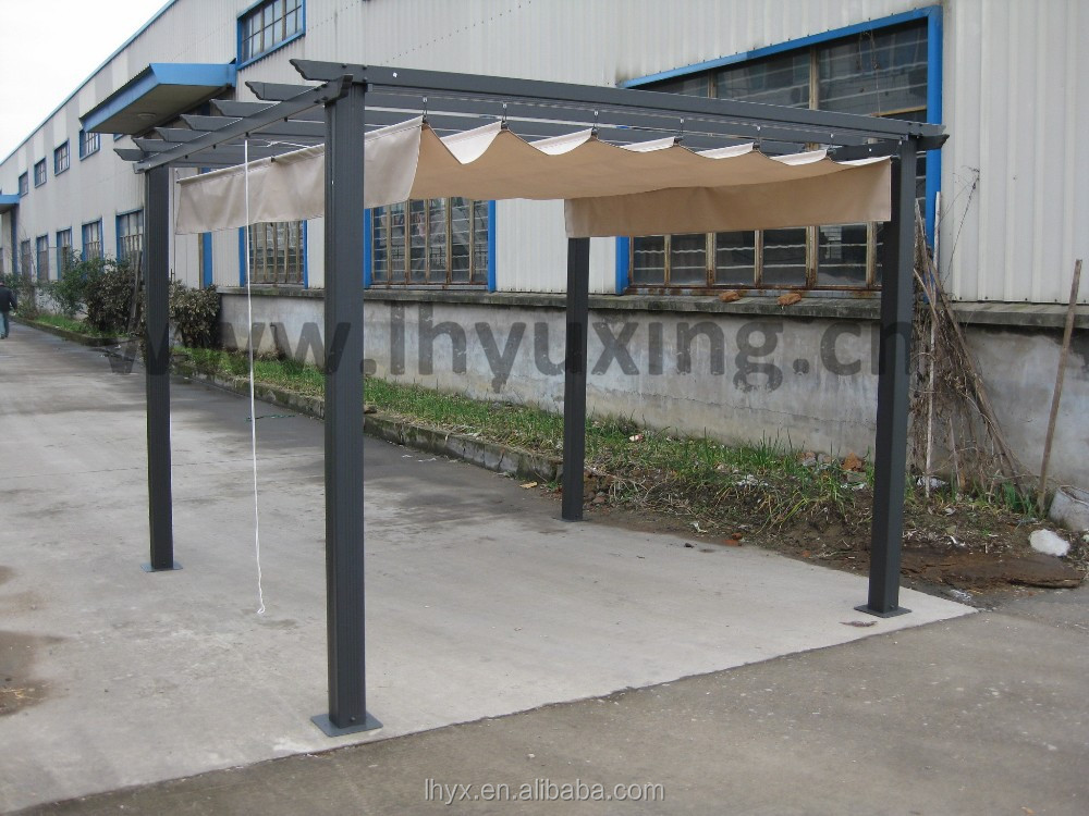 Hot selling 3x3m aluminum pergola outdoor pavilion patio for Pergola aluminum x