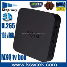 Top selling android 4.4 os mxq tv box octo-core mail-450 internet tv box malaysia