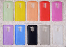 2015 New Coming PP Frosted Transparent Phone Case for LG G3