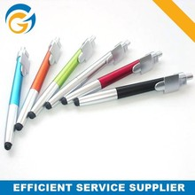 Plastic romotional Color Barrel Stylus Screen Touch Pen for Iphone