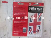 mini countires' flags shape paper car freshener