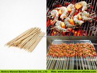 Natural Smooth Straight Barbecue Sticks