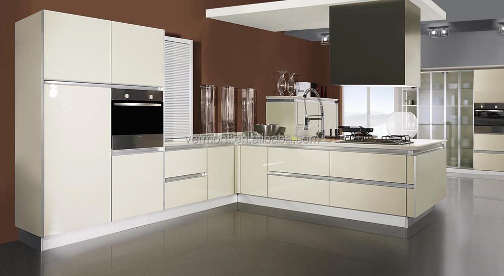 Groothandel u vorm lak modulaire keuken muur opknoping kast keuken kasten product id 60072854547 - Kleur verf moderne keuken ...