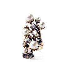 2015 china wholesale Ashine brand Europe&America Fashion pearl ring designs, latest pearl ring design, new design pearl finger r