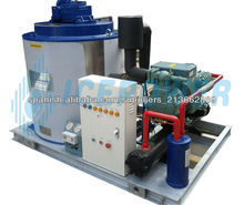 8tons/day,freshwater fishery flake ice machine, HIGH EFFICIENCY, CE APPROVED