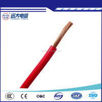 Hot-selling Round Cambodia Electric Wire and Cable , Copper PVC Electric Wire 16mm 3mm