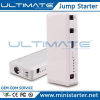 12000 mAh Rechargeable Emergency Lithium Battery 12v Car Jump Starter