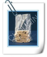 stand up transparent plastic bag for cookies