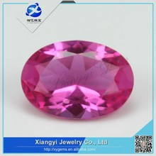 alibaba gemstones manufacturer brilliant oval cut synthetic ruby stone factory prices