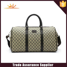 2015 new design fasion leather travel bag