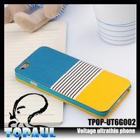 colorful fashion flip leather cover for nokia lumia 520 case
