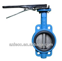 wafer butterfly valve lever operated