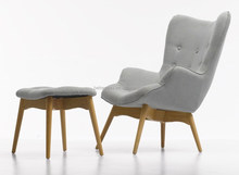 Replica Grant Featherston Contour Chaise Lounge Chair