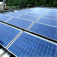 HYE adjustable 4000w solar mill system solar grid-tied system