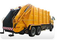howo10 cubic meter rear load garbage compactor truck self loading truck for sale