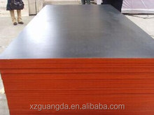 Yellow/Red/Black/Brown Film Faced Plywood for construction,Concrete Shuttering plywood,Wood construction material