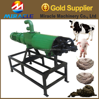 Manure process machine for cattle farm dung process dewatering machines