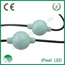 50mm 6leds 360degree 3D led pixel ball light source ws2811 50mm 6leds/ball 20balls/string DC12V waterproof