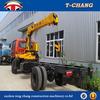 manufacturer sale 8ton hydraulic telescopic crane for sale in india
