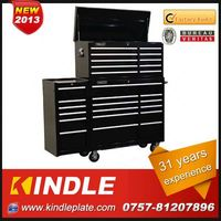 Kindle 31 years experience roller Customized tool boxes on wheels with drawers