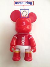 Oem factory hot sale ABS key chain animal style cartoon toys