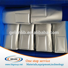 High quality laminated aluminum film for lithium ion battery pouch materials, battery raw materials