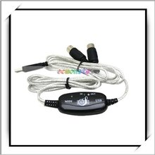 6 Feet USB Converter Cable To MIDI Keyboard Interface Adapter