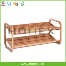 Bamboo and Wooden Shoe Rack/Bamboo Housewares/Homex_FSC & BSCI Factory