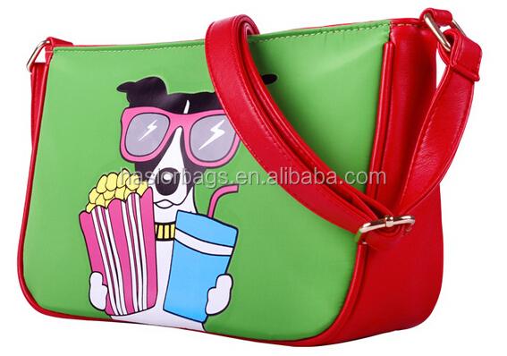 2015 nouveau Design de mode sac à bandoulière avec chien impression