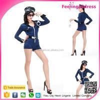 Women top sale police sexy costume