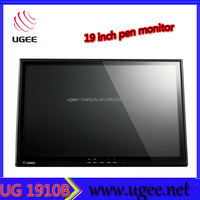 19 inces high quality pen touch screen graphic tablet pc monitor
