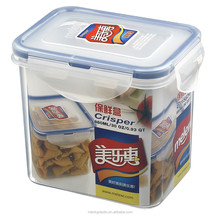 BPA free airtight plastic food container