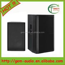 Professional stage speaker Big bass speaker Active PVC speaker for stage/karaoke/promotion/outdoor activities Gem-651