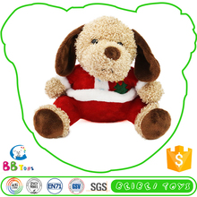 Wholesale Premium Quality Best Price Personalized Soft New Product Hot Quality Oem Soft Christmas Sitting Puppy