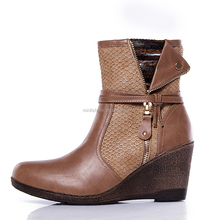 2015 hot sale winter shoes woman ankle boot