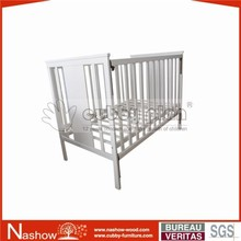 solid wood convertable nursery baby crib