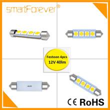 CE RoHS Festoon SMD LED Car Map Lights Replace 211 Halogen bulbs
