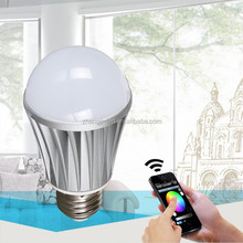enegry saving led lights wifi connected rgb&warm white colors changing