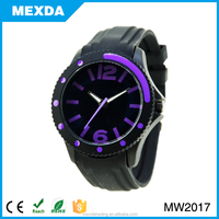 fashion man quartz wrist silicone wholesale high quality watch