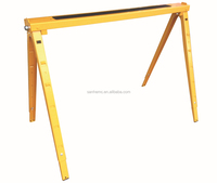 ajustable and folding multi-functional metal saw horses 26605 for wood work