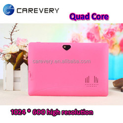 Lowest cost 7 inch quad core tablet pc, tablet pc android 7 inch cheap