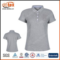 2015 moisture wicking dry rapidly women office uniform pique polo shirt