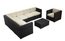 MS-A323 outdoor sectional sofa china synthetic rattan furniture