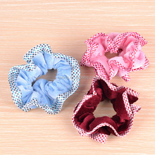 Shiny Side Fabric Elastic Scrunchie Fashion Hair Accessories New Hair band For Women