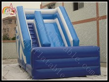 Classic Inflatable Slide Certificated PVC material inflatable dry slide Single Lane Inflatable Slides