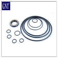 Excavator Spare parts kinds of swing motor & duction oil seal kits