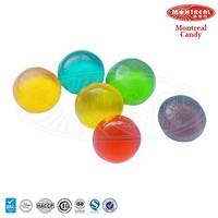 Colourful custom jelly gummy ball candy