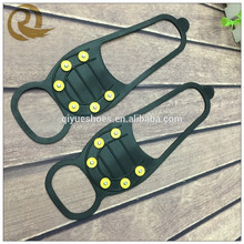 Antislip Shoes Cover Snow and Ice Shoes Spikes good tpr ice shoe crampons