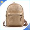 Fashion Womens PU Leather Tote School Backpack